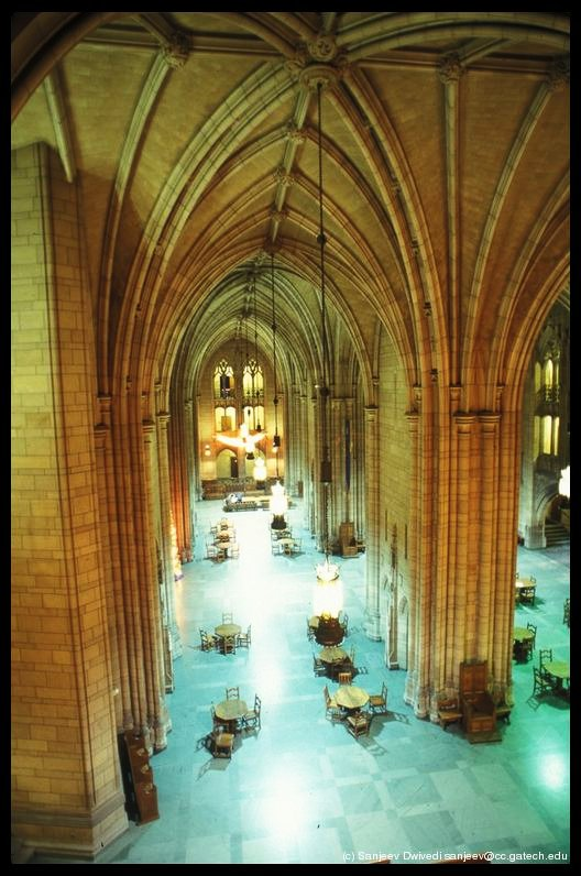 University Of Pittsburgh Cathedral Inside